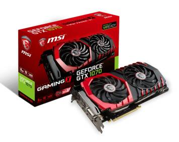 Karta graficzna MSI GeForce ® GTX 1070 GAMING X 8G